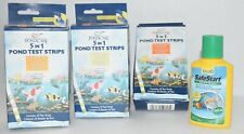 Pond Care Various Test 25 Strips each Hardness PH Nitrate unused 4 Boxes