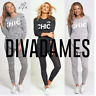 JUSTYOUROUTFIT WOMENS PLUS SIZE NO9 CHIC TRACKSUIT LOUNGE WEAR SET 2255