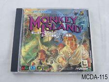 The Secret of Monkey Island MegaCD Japanese Import Sega CD Mega Drive US Seller
