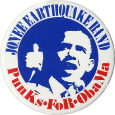 2008 Campaign PUNKS FOR Barack OBAMA Limited Issue Button (5029)