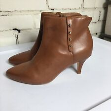 Anthropologie Corso Como Englewood leather studded boots. Size 5.5