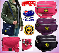 shoulder backpack travel sport bag NEW multiple compartments Pink Black 8065