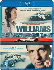 WILLIAMS (2017): BLU-RAY - Sir Frank & Claire, Formula 1 F1 Grand Prix - NEW UK