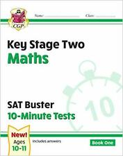 KS2 Maths SAT Buster: 10-Minute Tests by CGP Books, CGP Books