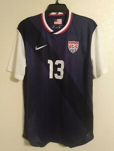 Nike USA Soccer Team Dri-fit Jersey # 13 Woman's Alex Morgan Size Large