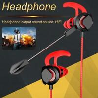 Gaming Earphone Stereo In Ear Headset for Mobile Phone PS4 Xbox One PC with Mic