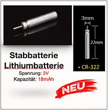 Jenzi Stabbatterie 2 Stück 3V