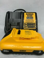 Dewalt Dcb230C 20V Compact Battery & Charger Set Dcb112 combo kit Ln