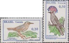Brasilien 1178-1179 (kompl.Ausg.) ungebraucht 1968 Vögel