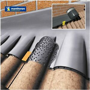Manthorpe Flash Vent Roofing Lead Ventilation Abutment Flashing 3 Metres G1105