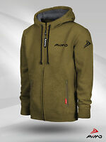 PIMD Essential Khaki Fitness Gym Workout Hoody/ Hoodie Training Wear Mens
