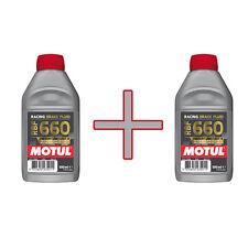 Lot liquide de Frein Motul DOT4 RBF 660 2x500ml  *Livraison Express*