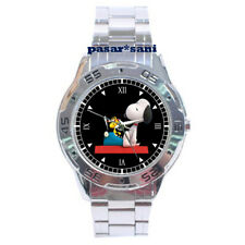 NEW SNOOPY AND PEANUTS CUTE CARTOONS Custom Men Wrist Watch Mens Watches