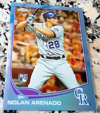 NOLAN ARENADO 2013 Topps Chrome BLUE REFRACTOR SP Rookie Card RC 038/199 $ HOT $