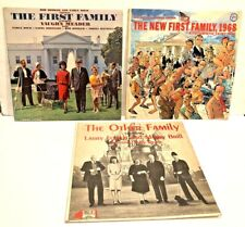 First Family Other Family 60s Political Humor Comedy Vinyl Lp Record Album Set