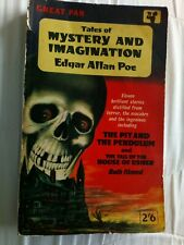 Tales of Mystery and Imagination Edgar Allan Poe 1962 Pan Books Accept 7th print