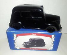 London Taxi / Car Ceramic / Porcelain Coin Bank / Piggy Bank