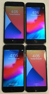 LOT OF FOUR TESTED CDMA + GSM UNLOCKED AT&T APPLE iPhone 6S, 32GB PHONES A140J