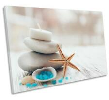 Spa Stones Candles Bathroom CANVAS WALL ART DECO LARGE READY TO HANG all sizes