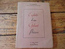 CURIOSA EXPLOITS D'UN GALANT PRECOCE EMILE DESJARDINS SOUS L'MANTEAU BIBLIOPHILE