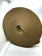 3 Rolls Reinforced Kraft Paper Gummed Tape Water Activated Brown 275 X 450