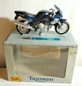 Maisto Miniature 1:18 Echelle Triumph Sprint Rs Moto - #30300 - Emballé