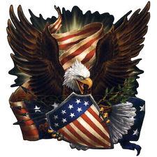 AMERICAN FIGHTING FREEDOM EAGLE DECAL STICKER CAR TRUCK