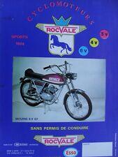 ROCVALE cyclos prospectus 1974