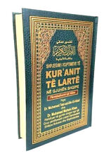 ALBANIAN: The Quran Arabic Text with Albanian Translation & Notes -HB