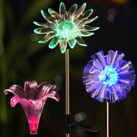 Solar Powered LED Garden Yard Grass Plant Lawn Landscape Outdoor Path Light Lamp