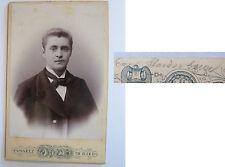 Ried Innkreis - 1899 - Mann im Anzug - benannt ? / CDV