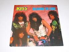 """KISS-reason to live - 1987 Royaume-Uni Moulé par injection 7"""" vinyle single"""