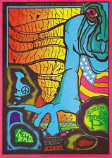Jefferson Airplane 1967 A3 Poster