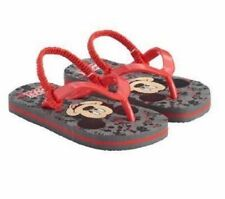 8b2c5797148dae Disney Mickey Mouse Black   Red Flip Flops Sandals Shoes Toddler Boy Size  ...