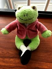 Peter Rabbit BEATRIX POTTER Jeremy Fisher Frog VINTAGE 2003 Plush Gund 75905
