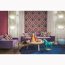 Rose Barbara Maison Kilim Style Aztèque Papier Peint - Rasch 527445