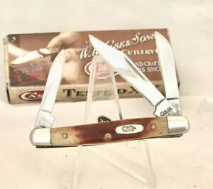 """Case XX """"Red Stag"""" R5327 Stockman Knife, New in Box, 2009!!"""