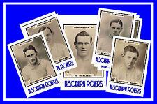 BLACKBURN ROVERS - RETRO 1920's STYLE - NEW COLLECTORS POSTCARD SET