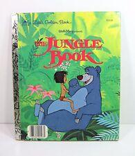 THE JUNGLE BOOK A Little Golden Book Walt Disney Presents 1967 Copyright  103-56