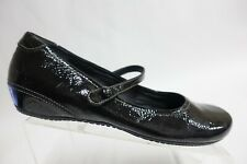 ECCO Patent Leather Mary jane Black Sz 9 (40 EU) Women Flats