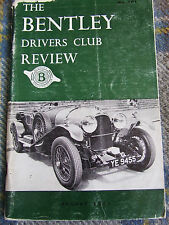 BENTLEY DRIVERS CLUB REVIEW AUG 1971 #101 MACKINNON'S MASTERPIECE CREWE PERIWINK