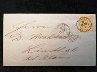 Schweiz - Brief Rechnung Stempel 1869 Zürich Sitzende Helvetia 2 C   Nr.29