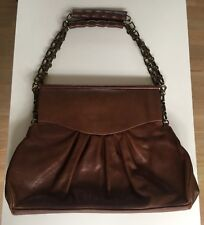 Fabulous Vintage Liberty Of London Handbag Brown Leather