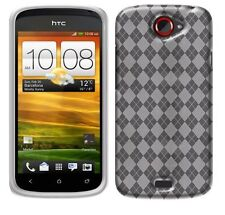 Soft TPU Crystal Skin Cover Phone Case for HTC One S Z520e T-Mobile / VILLE