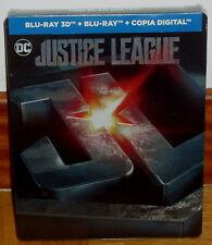 LIGA DE LA JUSTICIA STEELBOOK BLU-RAY 3D+BLU-RAY NUEVO PRECINTADO (SIN ABRIR) R2