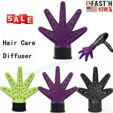Hand Shape Home Salon Tool Universal Hair Curl Dryer Diffuser Blow Tool US FAST
