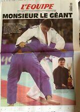 L'Equipe Journal 26/12/2000; David Douillet élu champion des champion de l'année