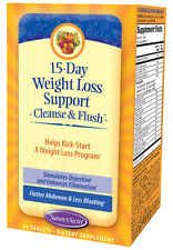 Nature's Secret - 15 Day Weight Loss Cleanse and Flush - 60 Tablets