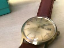 VINTAGE OMEGA GENEVE AUTOMATIC MENS GOLD PLATED WRISTWATCH WRIST WATCH C1972