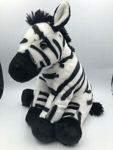 Wild Republic 2015 K&M International Zebra Plush Kids Soft Stuffed Toy Animal